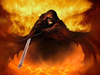 آیا شیطان که از جنس آتش است در آتش می سوزد؟