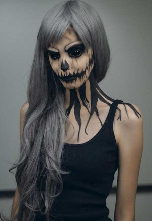 realistic halloween makeup ideas 10 pictures