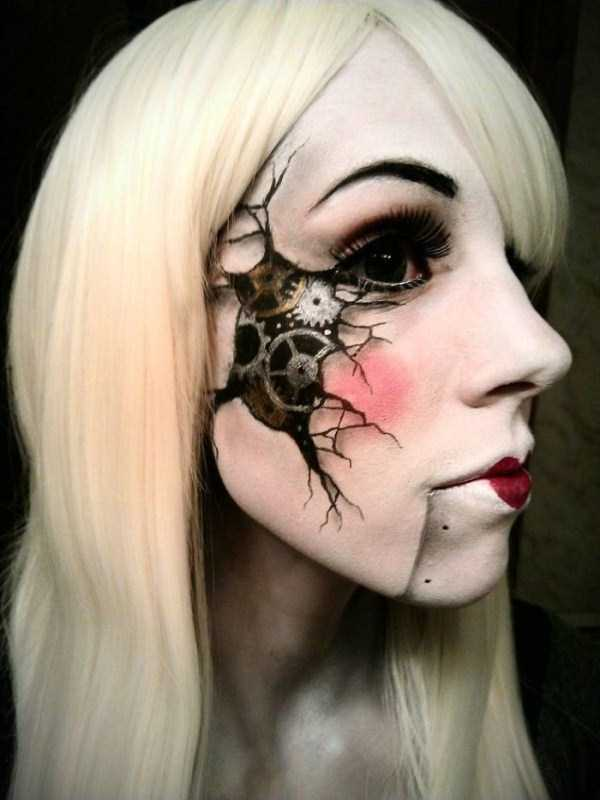 realistic halloween makeup ideas 20 pictures