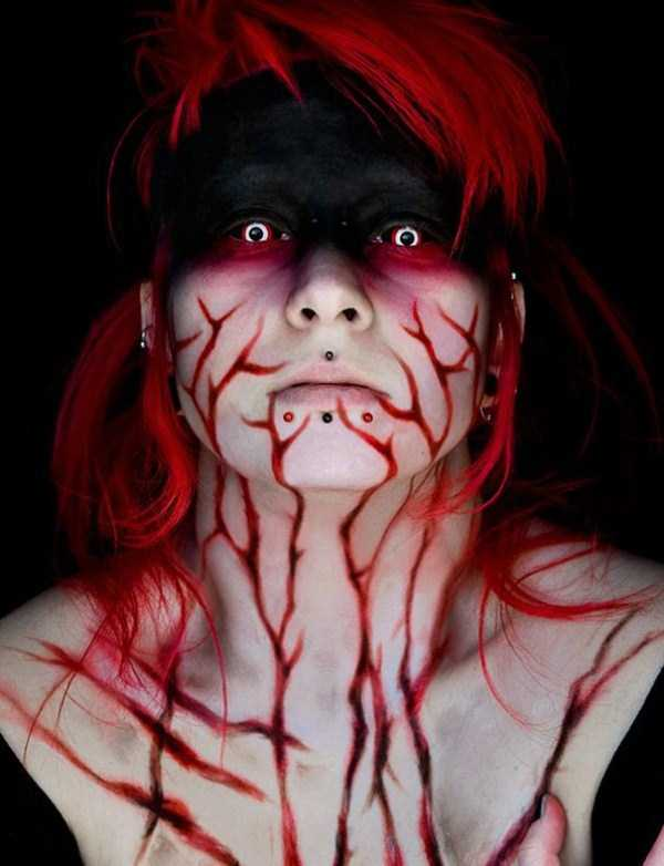 realistic halloween makeup ideas 9 pictures