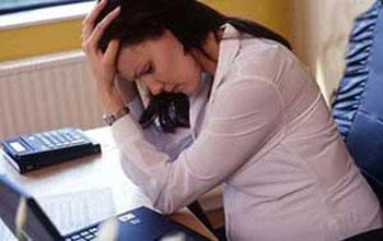 استرس بارداری