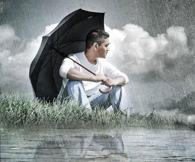 اس ام اس ویژه رو بارانی و ابری (3)