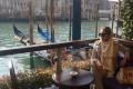 عکس الناز شاکردوست در خارج کشور (ونیز ایتالیا)