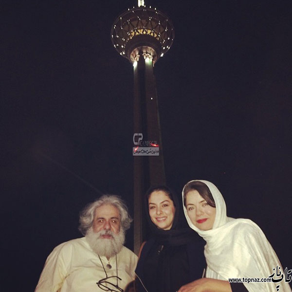مهتاب نصیر پور و همسرش محمد رحمانیان