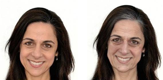 عکس چهره افراد پس از ده سال استرس داشتن!