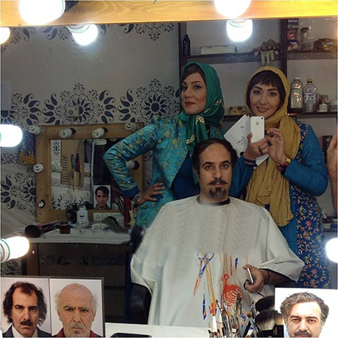 بازیگر سریال ابله کمال تبریزی