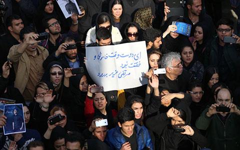 اخبار,اخبار فرهنگی,تصاویر  مراسم تشییع مرتضی پاشایی<p class=