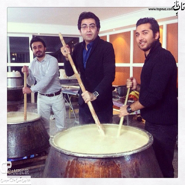 علی مرادی و فرزاد حسنی