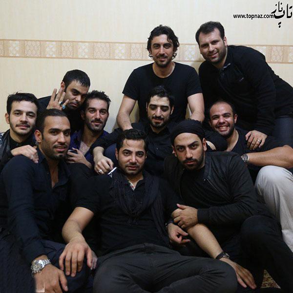 سامان گوران،مهدی ماهانی و فوتبالیست ها