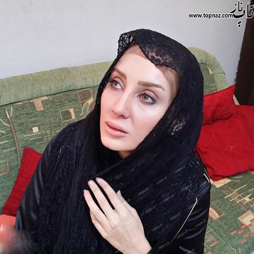 عکس مریم در سریال برابر با اصل