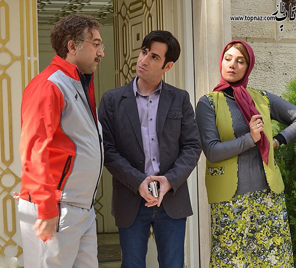 تصاویر پشت صحنه سریال ایرانی ابله