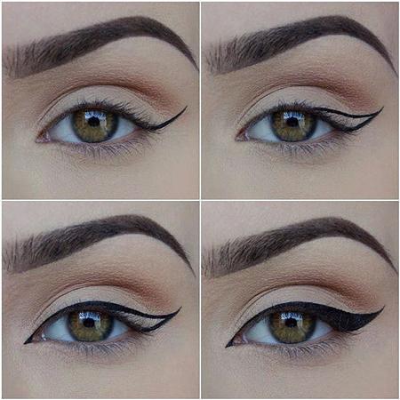 نحوه کشیدن خط چشم زیبا برای مبتدی ها