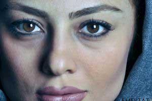 عکس از گریم متفاوت یکتا ناصر در سریال ابله