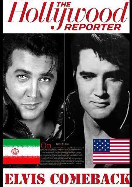 اخبار,اخبار فرهنگی,عکس بسیار جالب مجله امریکایی از بازیگر ایرانی بخاطر چهره اش