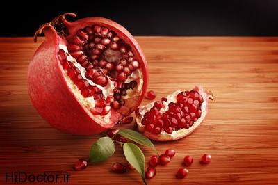 pomegranate seeds opt داروهای خانگی برای سفت کردن سینه ها