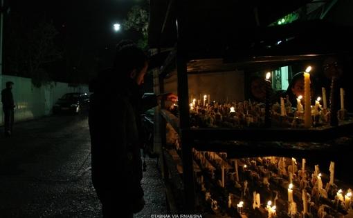 عکس های مراسم شام غریبان در تهران