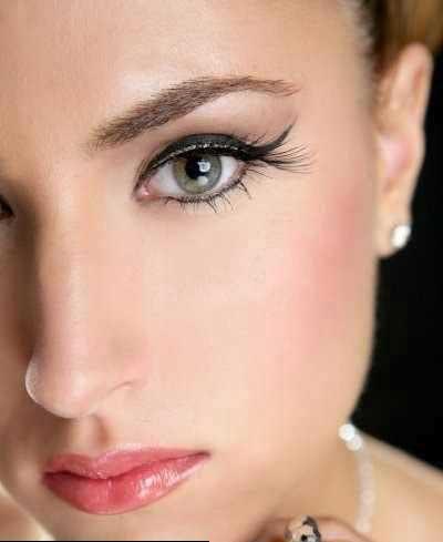 مدل آرایش صورت نامزدی