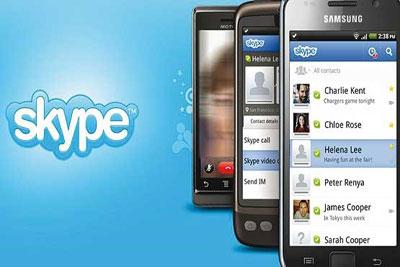 آموزش اسکایپ اندروید Skype
