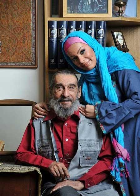 انوشیروان ارجمند و دخترش