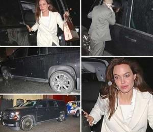 تصادف آنجلینا جولی (2)