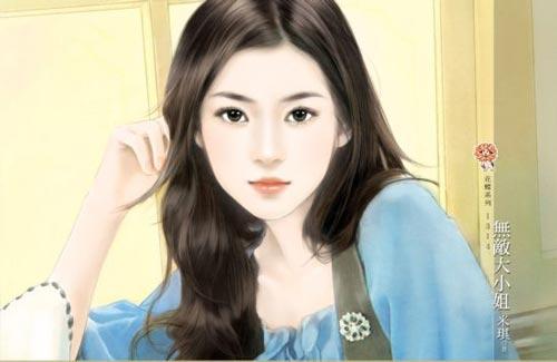 عکس دختر کارتونی