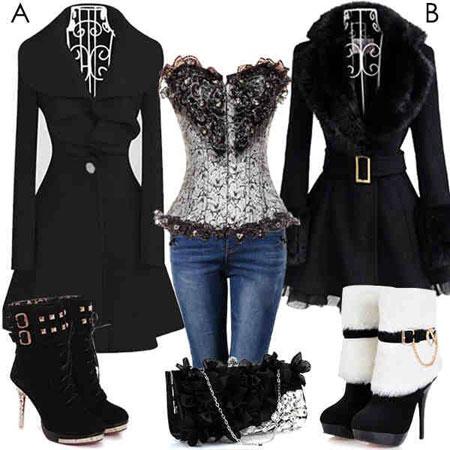 ست های لباس زمستانی زنانه