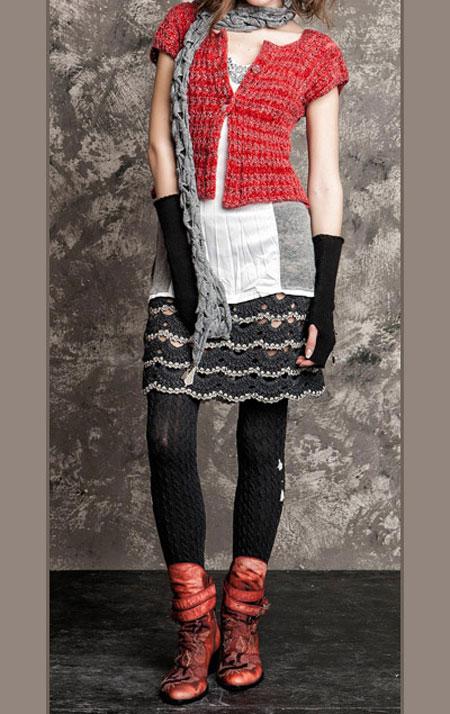 مدل لباس پاییزی و زمستانی زنانه Daniela Dallavalle