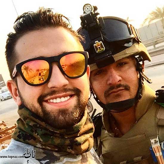 محسن افشانی در عراق