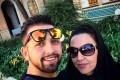عکس های محسن افشانی و مادرش در عراق