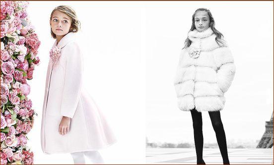 مدل لباس دخترانه زمستانی مارک Monnalisa