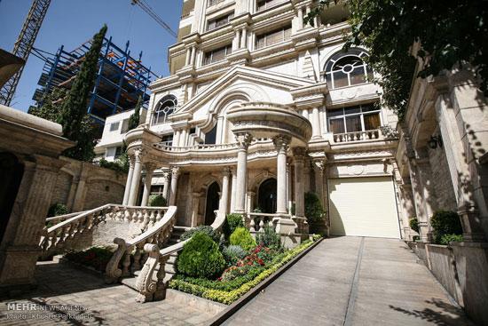 منزل تهران, خانه های گران قیمت