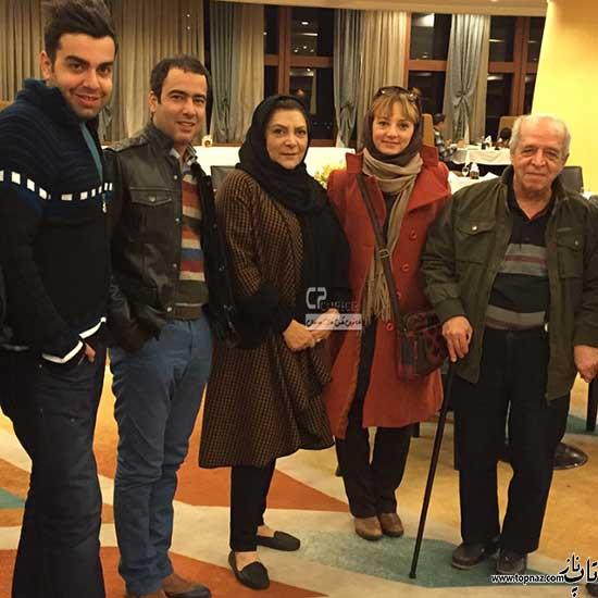 محسن قاضی مرادی و همسرش مهوش وقاری و نیما فلاح و همسرش سحر ولدبیگی