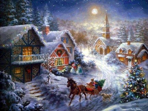 نقاشی کریسمس