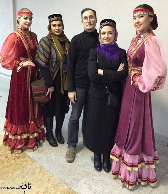 گلاره عباسی در روسیه