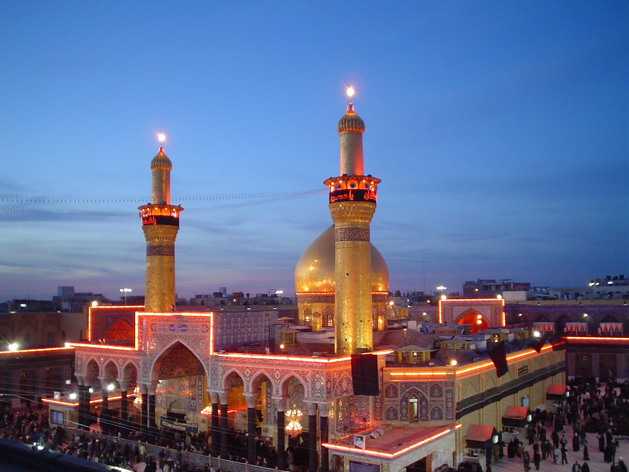 Karbala Alamto.Com 003 عکس های بسیار زیبا از حرم امام حسین عکس