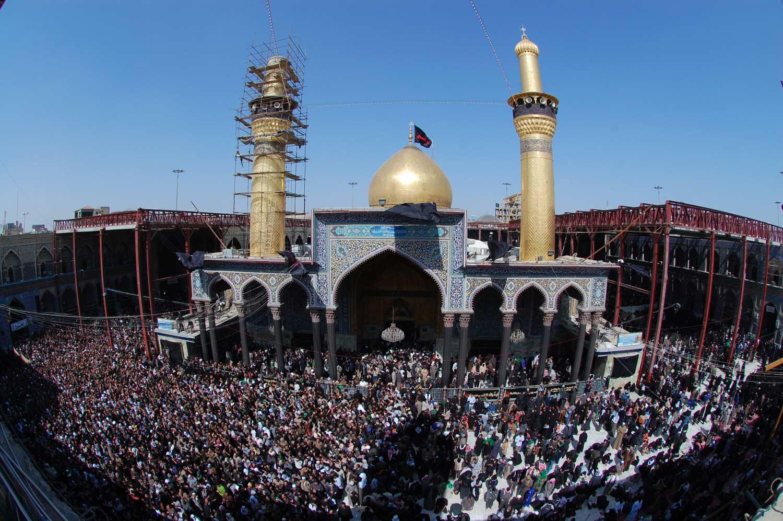 Karbala عکس های بسیار زیبا از حرم امام حسین عکس
