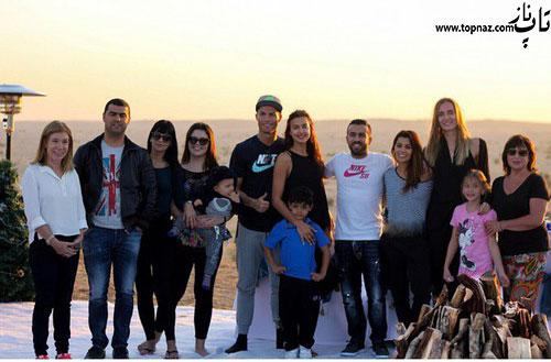 کریس رونالدو و ایرینا شایک در تعطیلات کریمس