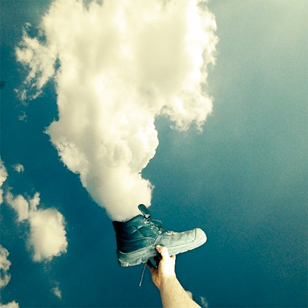 هنرنمایی با ابرها