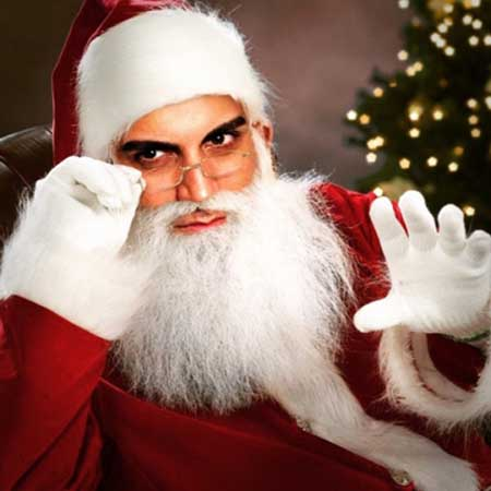 ارسطو خوش رزم به شکل بابانوئل