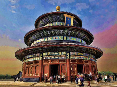 آثار باستانی چین,مکانهای دیدنی چین,مکانهای تاریخی چین