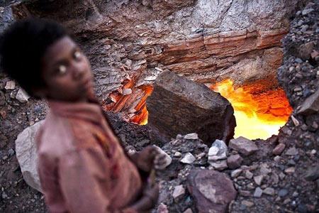 معدن شعله ور هندوستان