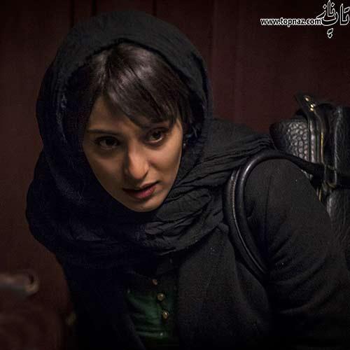 آناهیتا افشار در پشت صحنه فیلم پل خواب
