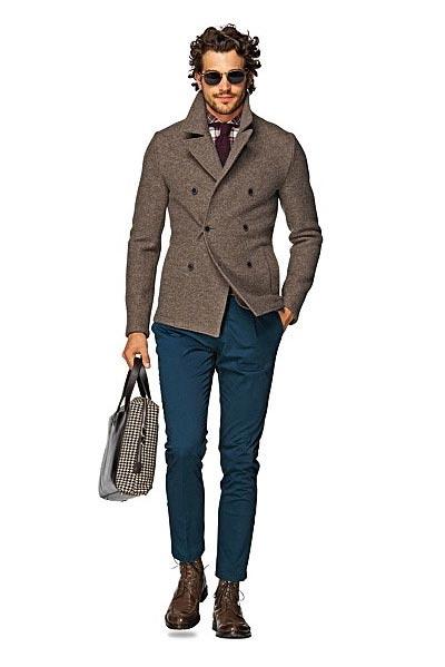 مدل لباس مردانه ویژه زمستان برند Suitsupply