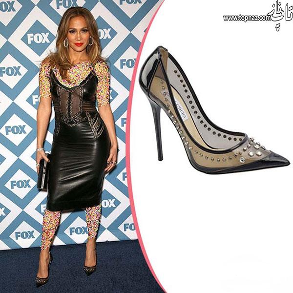 مدل کفش های مجلسی جنیفر لوپز Jennifer Lopez