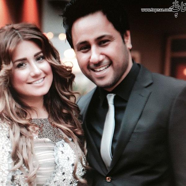 ازدواج شهیاد خواننده با باران خواننده ایرانی +تصاویر