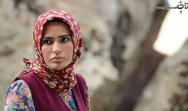 شیوا طاهری بازیگر سریال گذر از رنج ها