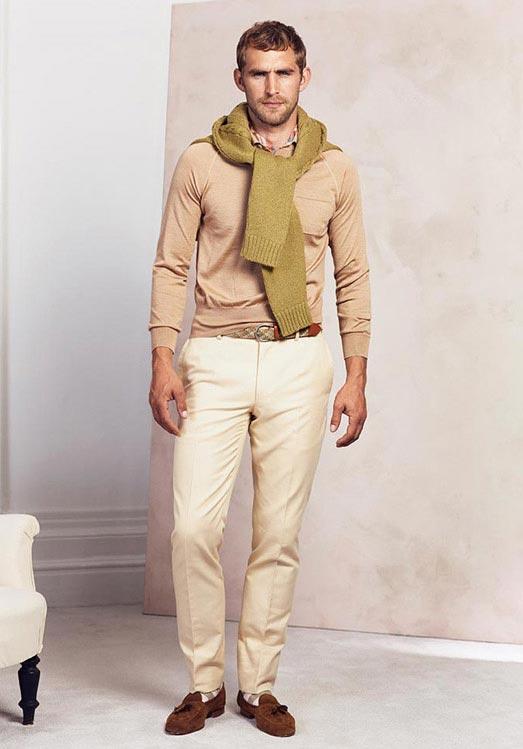 مدل لباس مردانه برند dunhill بهار 2015