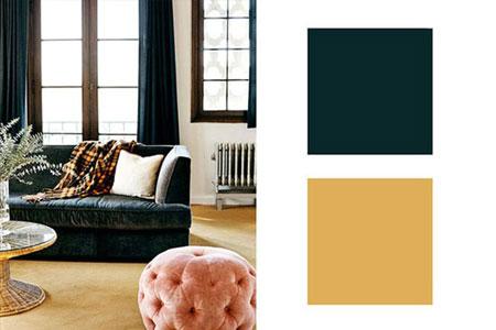 ترکیب رنگ سبز کله غازی ترکیب رنگ های 2015 به پیشنهاد طراحان