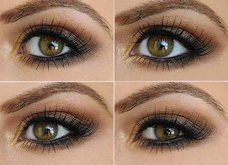 مدل آرایش چشم ویژه مهمانی شب