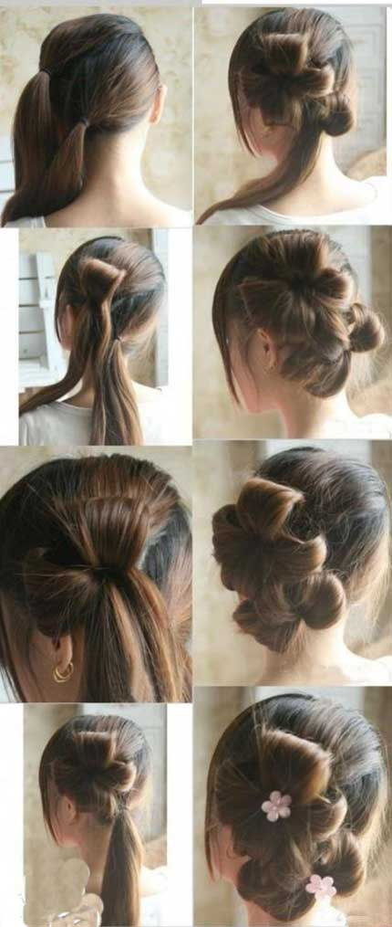 Photo of آموزش نوعی از بستن مو ساده و زیبا و مدل موی کج